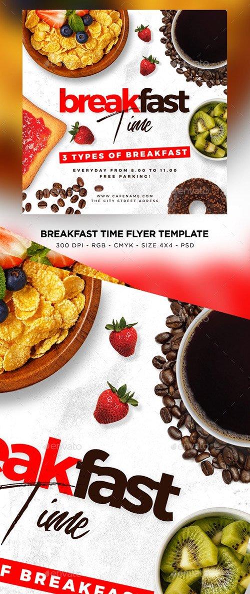 Breakfast Time Flyer 23811434