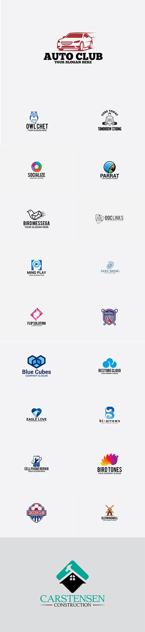 Mix Logo Bundle Vol.8