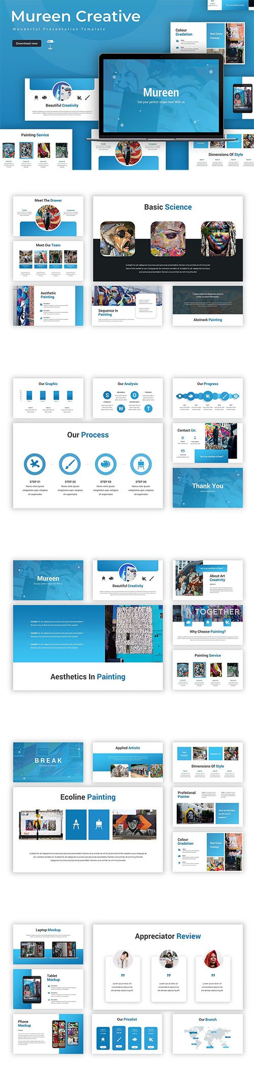 Mureen - Keynote Template