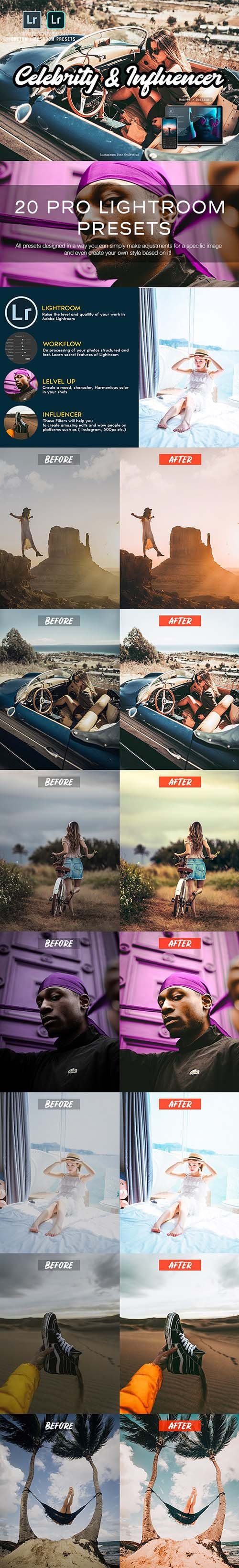 Pro Blogger Lightroom Presets 23800977