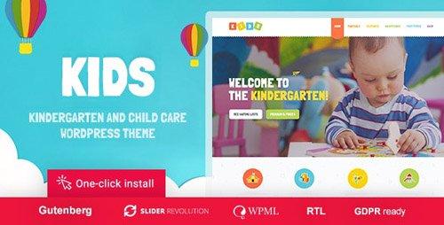 ThemeForest - Kids v1.1.5 - Day Care & Kindergarten WordPress Theme for Children - 16896957