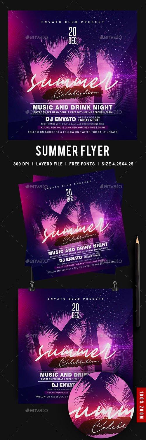 Summer Flyer 23974279