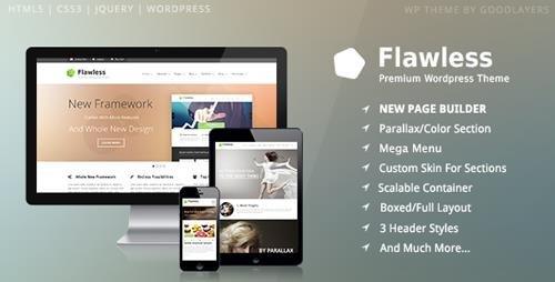 ThemeForest - Flawless v1.5 - Responsive Multi-Purpose WP Theme - 6526764