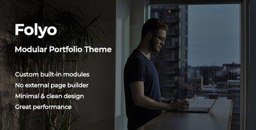 ThemeForest - Folyo v1.0 - Modular Portfolio Theme - 23327754
