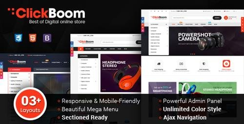 ThemeForest - ClickBoom v1.0.0 - Responsive Multipurpose Shopify Theme (Sections Ready) - 21587092