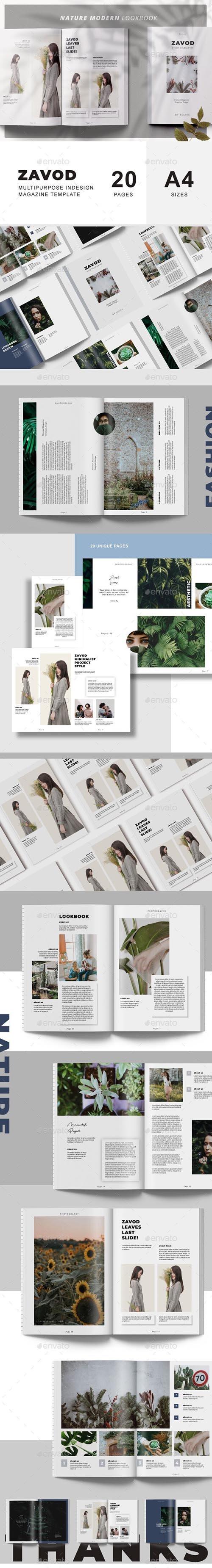 Zavod Lookbook & Catalog Template 23797632