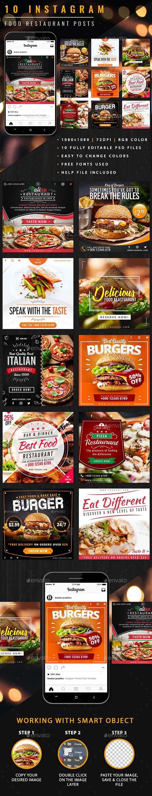 Instagram Food Restaurant Posts 23853738