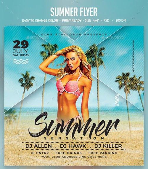 Summer Flyer 23836905