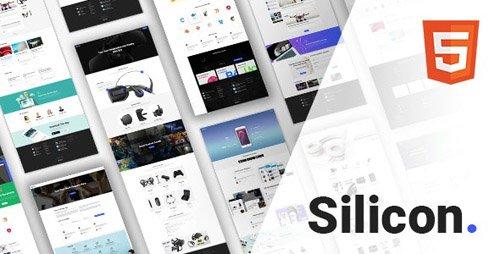 ThemeForest - Silicon v1.0.2 - Multi-Purpose Technology HTML5 Template - 20511935