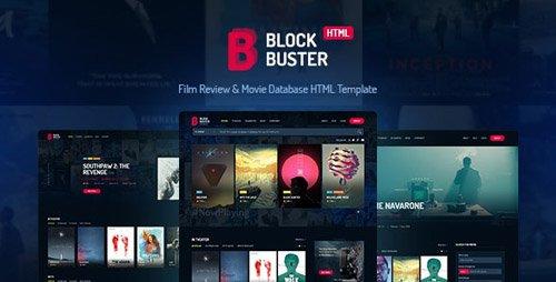 ThemeForest - BlockBuster v2.0 - Film Review & Movie Database HTML Template - 20011814