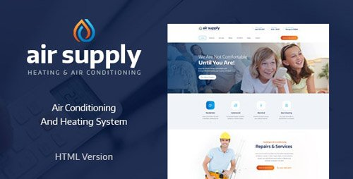 ThemeForest - Air Supply v1.1 - Air Conditioning and Heating Services Site Template - 19213395