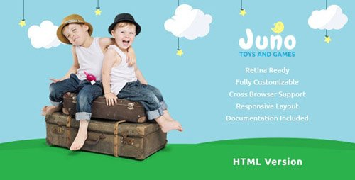 ThemeForest - Juno v1.3 - Kids Toys & Games Store Template - 19798322