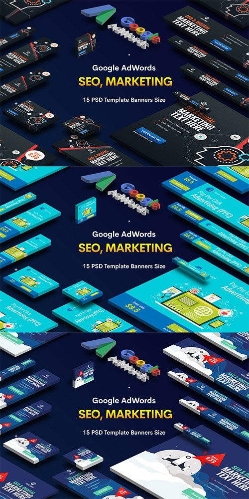 SEO, Marketing Agency Banners Ad