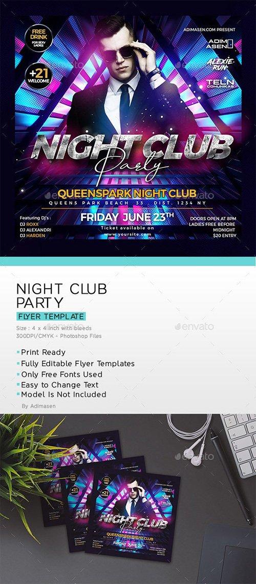 Night Club Flyer 23972037