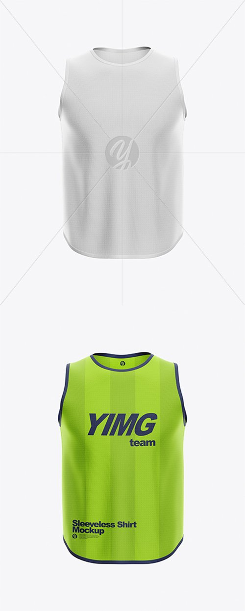 Sleeveless Shirt Mockup 38307 TIF