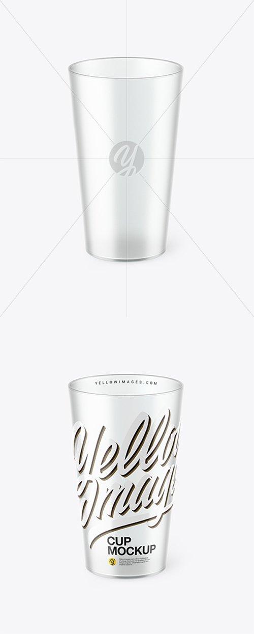 Clear Plastic Cup Mockup 38326 TIF
