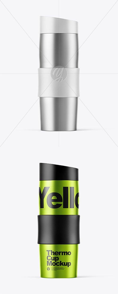 Metallic Thermo Cup Mockup 38027 TIF