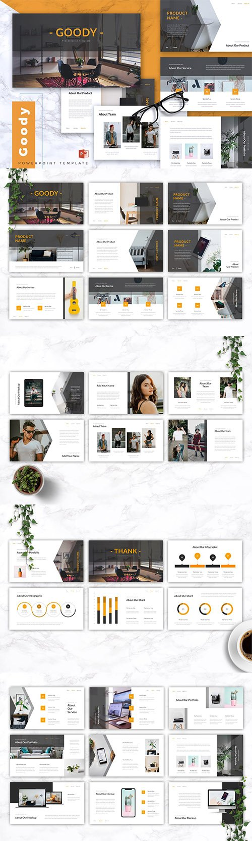 GOODY - Business Powerpoint, Keynote and Google Slides Templates