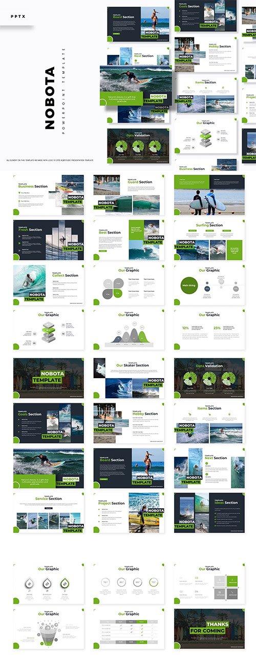 Nobota - Powerpoint, Keynote and Google Slides Templates