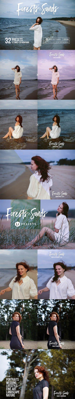 Forests & Sands Lightroom Presets