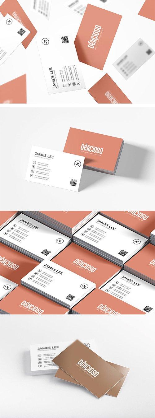 Minimal Creative Business Card Template
