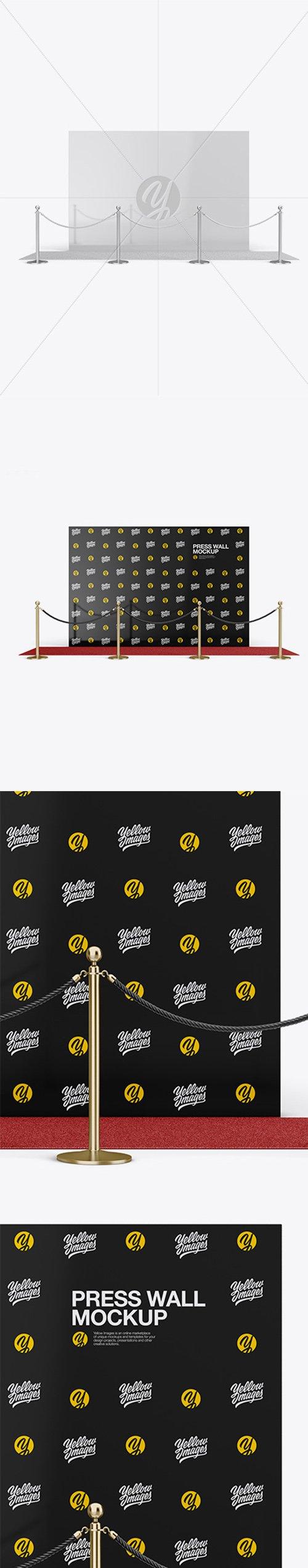Press Wall Mockup 36872 TIF