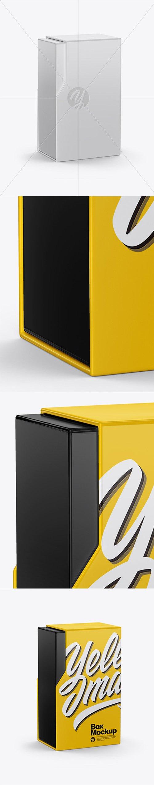 Glossy Box Mockup 36852 TIF