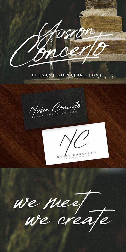 Yusron Concertos Font