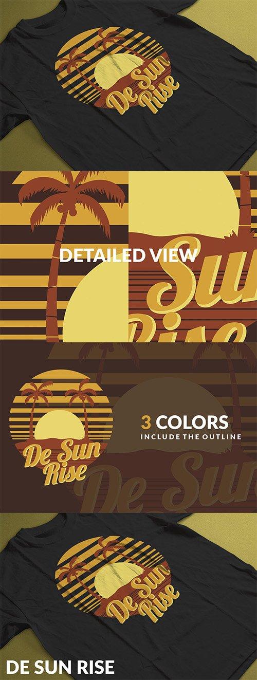 De Sun Rise Logo