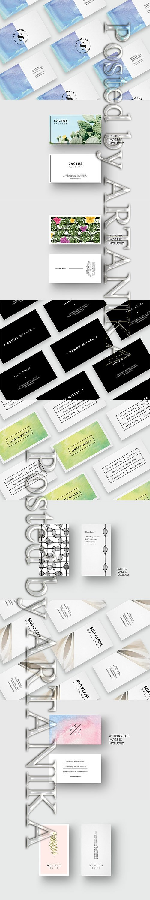 Special Business Card Template Set