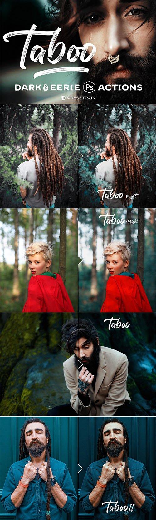 Taboo Dark Fantasy Photoshop Actions
