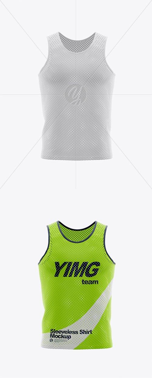 Sleeveless Shirt Mockup 36712 TIF