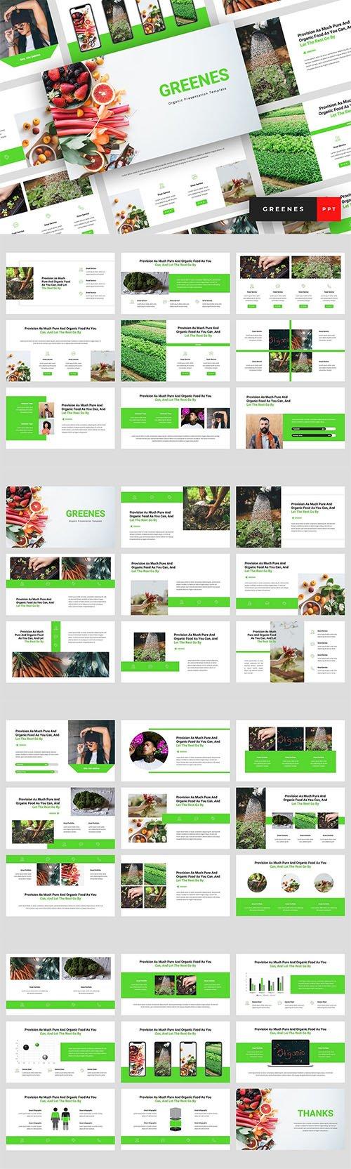 Greenes - Organic Powerpoint Google Slides and Keynote ...