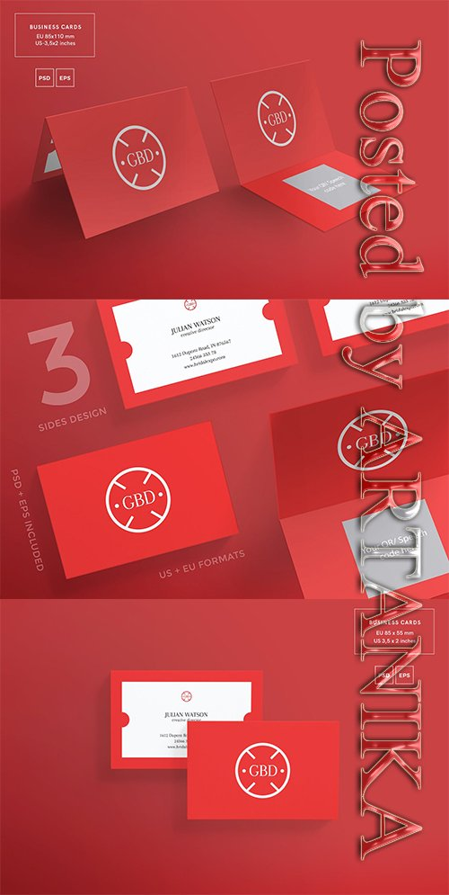 Bridal Expo Business Card Template