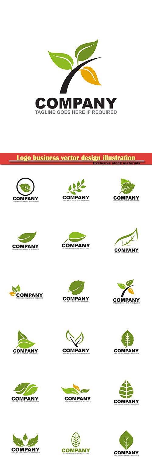 Logo business vector design illustration # 121