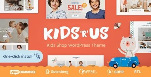 ThemeForest - Kids R Us v1.0.1 - Toy Store and Kids Clothes Shop Theme - 23243618
