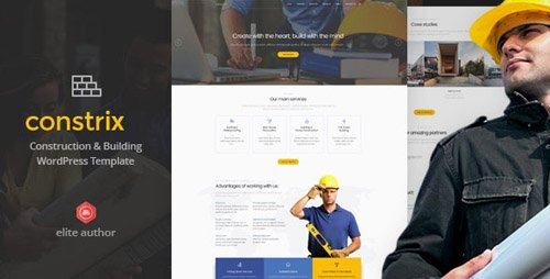 ThemeForest - Constrix v1.0 - Construction & Building WordPress Theme - 20659825