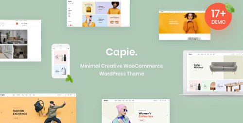 ThemeForest - Capie v1.0.3 - Minimal Creative WooCommerce WordPress Theme - 23824695