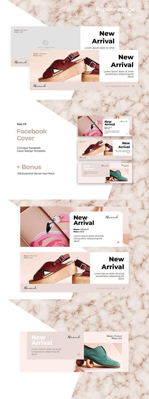Facebook PSD Cover Vol.17