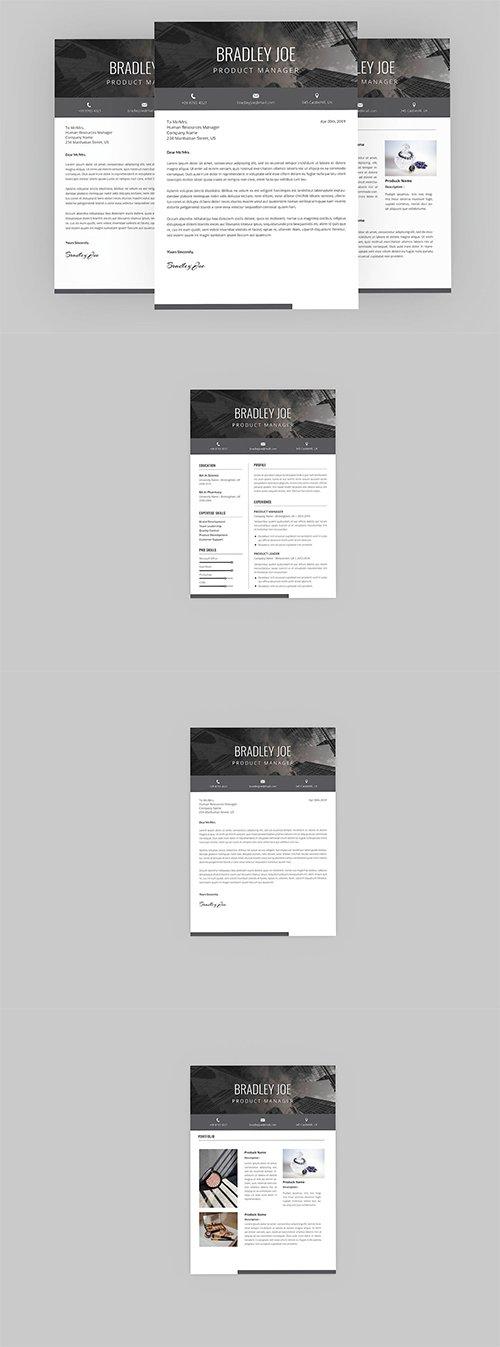 Silent Resume Designer Indesign