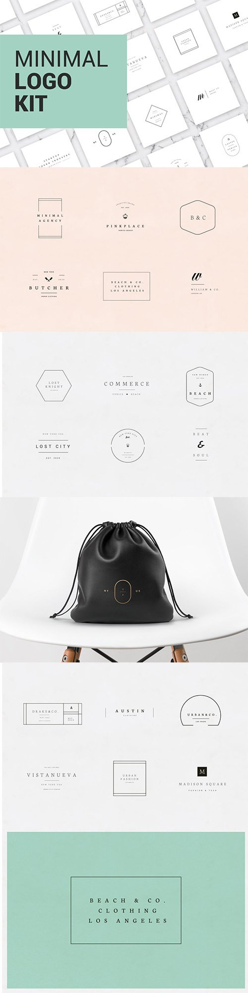Minimal & Trendy Logo Kit