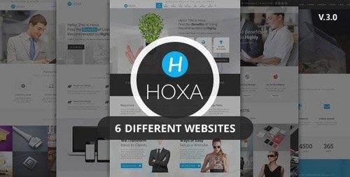 ThemeForest - Hoxa v3.1 - Responsive Multipurpose Joomla Template - 9243905