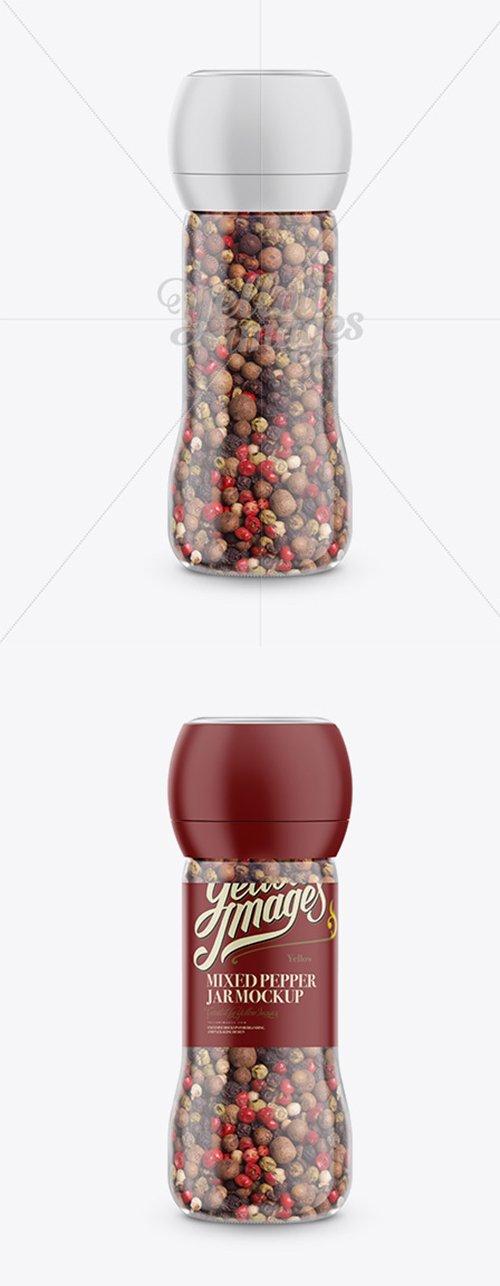 Mixed Pepper Jar Mockup 15511 TIF