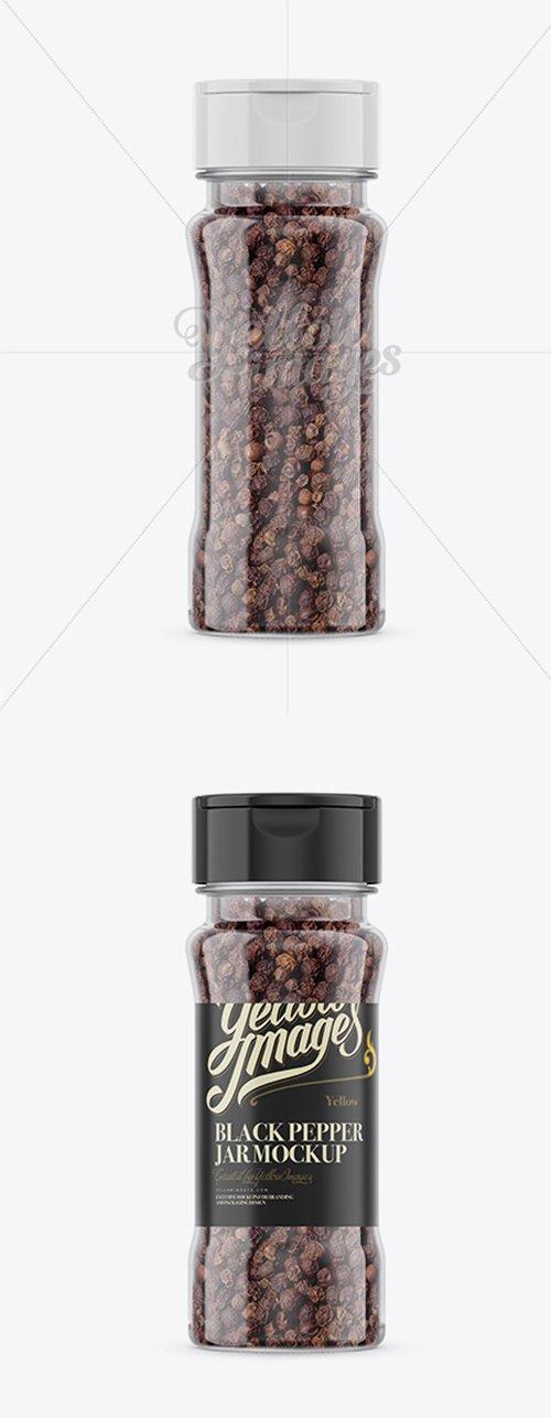 Black Pepper Jar Mockup 14794 TIF