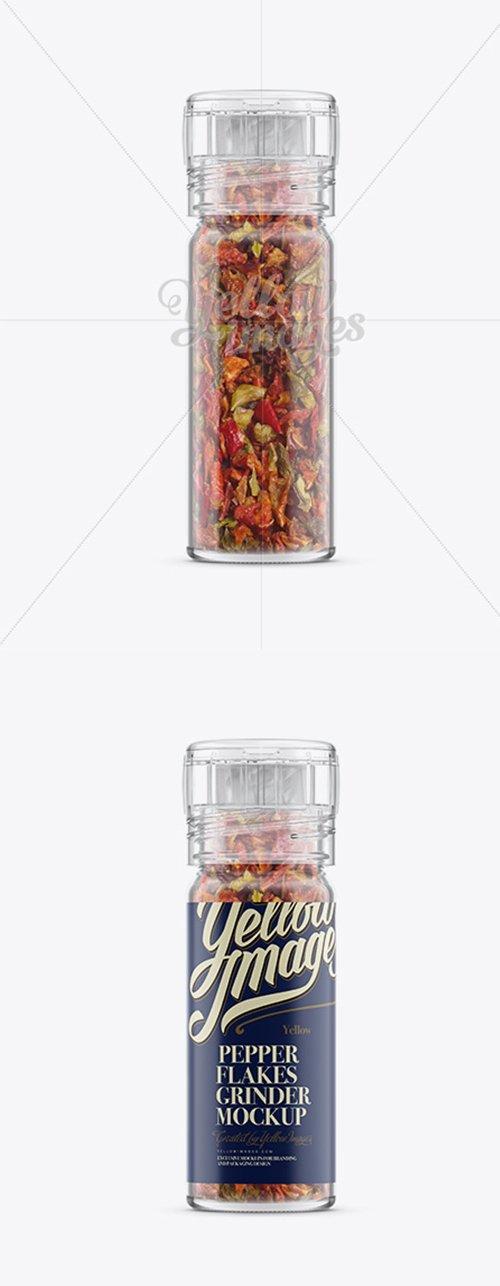 Pepper Flakes Grinder Mockup 12905 TIF