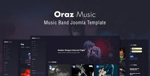 ThemeForest - Oraz - Music Band Joomla Template (Update: 10 April 19) - 22834589