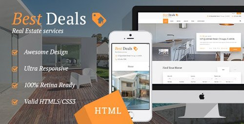 ThemeForest - Best Deals v1.1 - Property Sales & Rental Site Template - 18446010