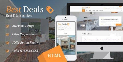 ThemeForest - Best Deals v1.1 - Property Sales & Rental Site Template - 18446010