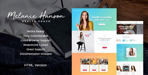 ThemeForest - Health Coach v1.3.1 - Blog & Lifestyle Site Template - 19798424
