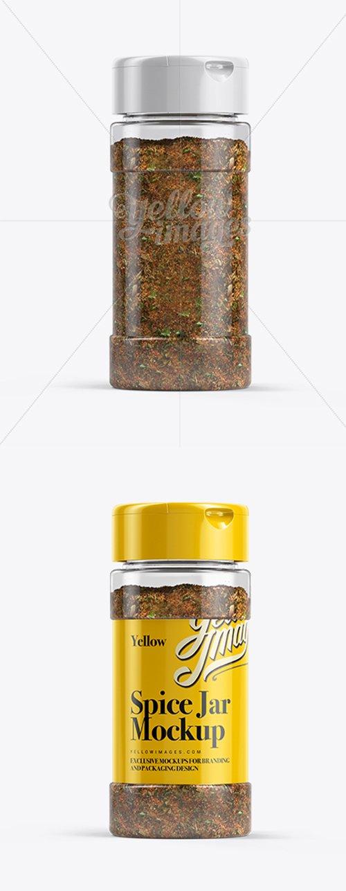 Spice Mix Jar Mockup 11811 TIF